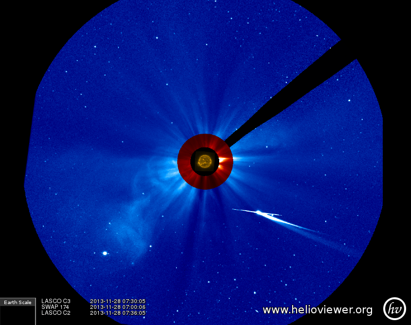 Comet ISON Approachs