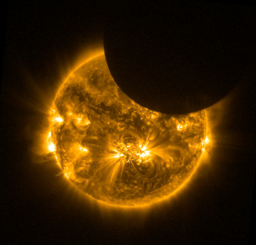 SWAP Observations of the 2014 October 23 Solar Eclipse