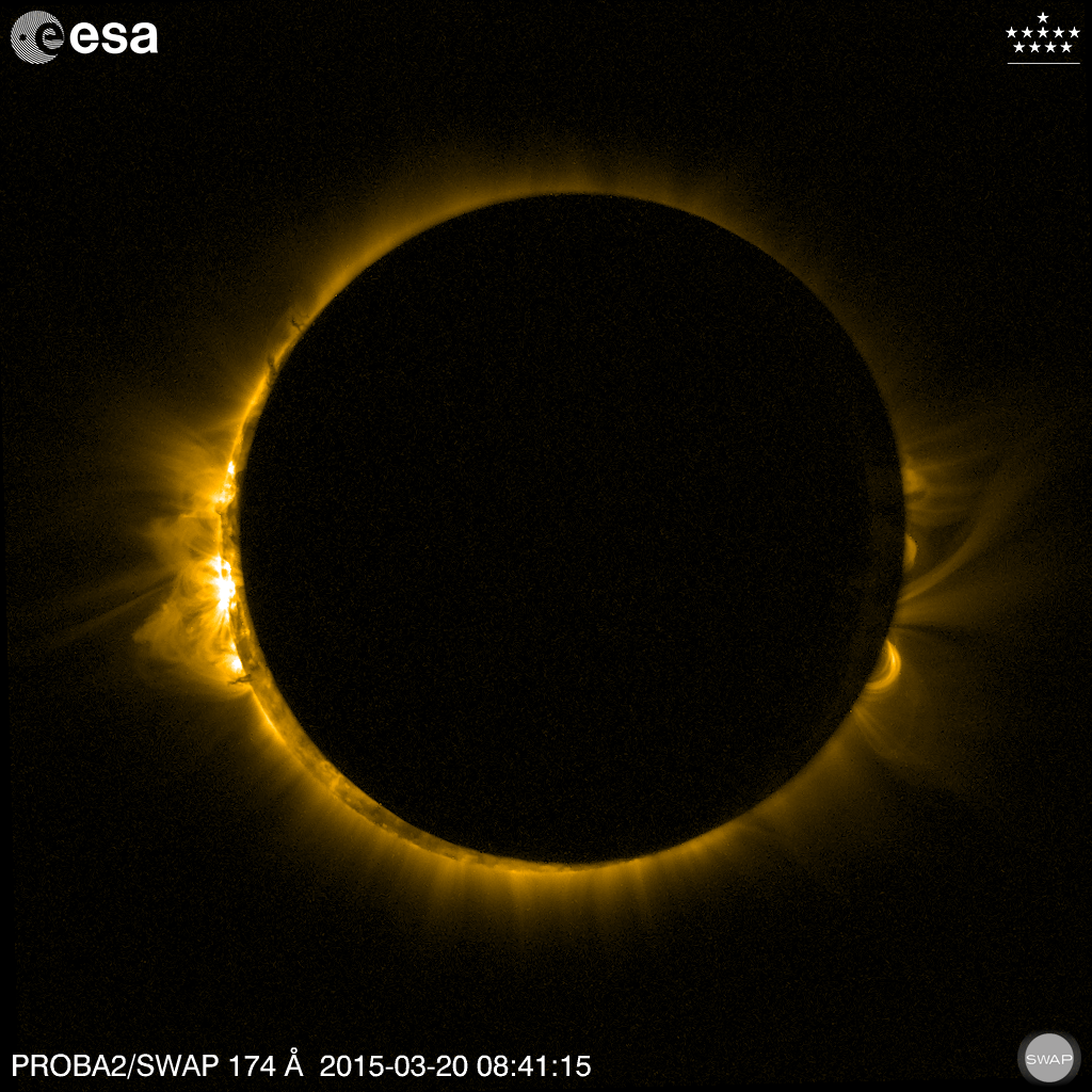 2015 March 20 Eclipse observed by PROBA2/SWAP