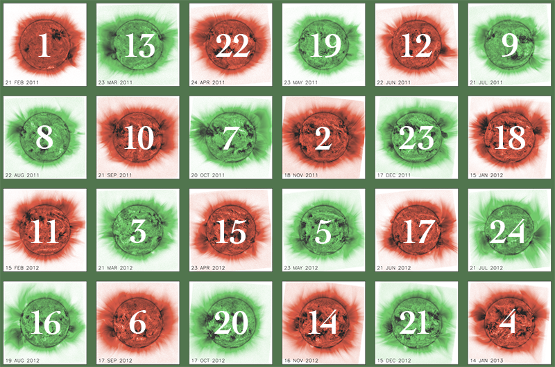Countdown Calendar (Links will only be available from the given day ...