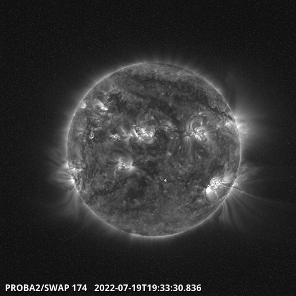 Laatste PROBA 2 beelden van de zon